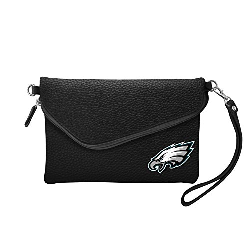 NFL Philadelphia Eagles Pebble Fold Over Crossbody -