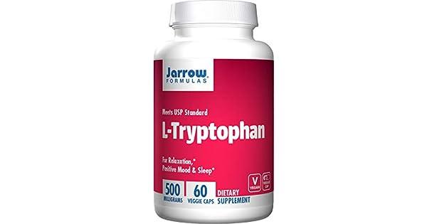Amazon.com: Jarrow Formulas L-Triptófano, para la relajación ...