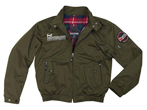 [해외] 코미네(KOMINE) JK-591 프로텍터 스윙 톱 재킷 Dark Olive/L Protect Swingtop Jacket 07-591