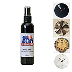 SSJSHOP Clock Cleaning and Lubricating Triple Elite 4oz Bottle