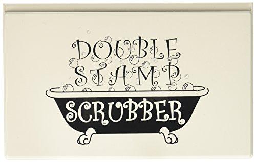Stewart/Superior Stewart Superior Double Stamp Scrubber, 5 by 7.5-Inch