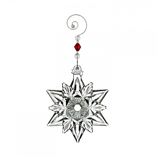 2015 Annual Snowflake Ornament - 2015 Waterford Annual Snow Crystal Pierced Snowflake Christmas Ornament
