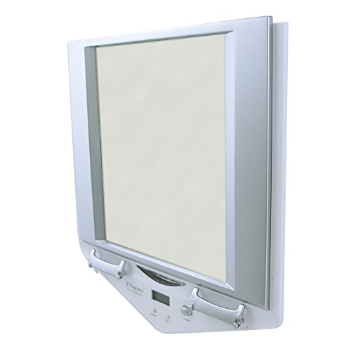 Zadro Zfogless Lighted Shower Mirror White Finish