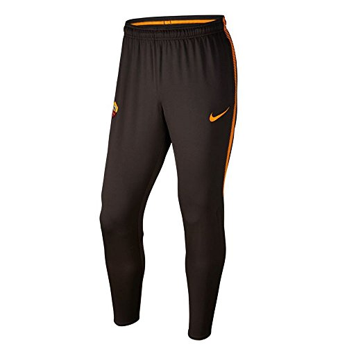 fan products of 2017-2018 AS Roma Nike Squad Training Pants (Velvet Brown)