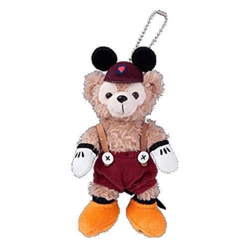 Disney Halloween 2015 Duffy stuffed badge (Mickey) Autumn palette [Tokyo Disney Sea Limited] Halloween]()