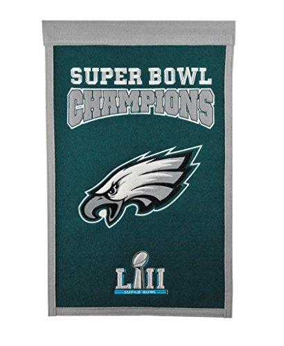 NFL Philadelphia Eagles Super Bowl 52 Champions Banner ()