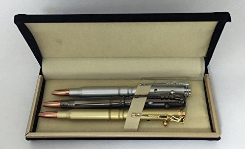 Rifle Bullet 3 Ballpoint Pen Set