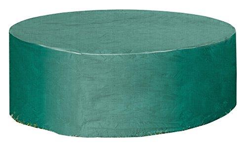 Royal Gardineer Gewebe-Abdeckplane für Gartentisch & Sonneninsel, rund