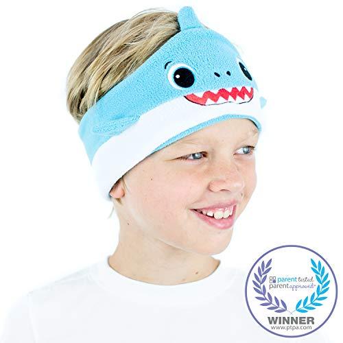 CozyPhones Kids Headphones Volume Limited with Ultra-Thin Speakers & Super Soft Fleece Headband - Perfect Toddlers & Children
