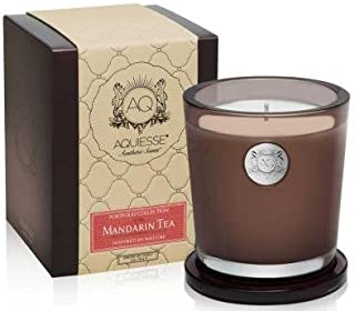 product image for Aquiesse Fine Scented Large Candle In Box - Mandarin Tea 11oz