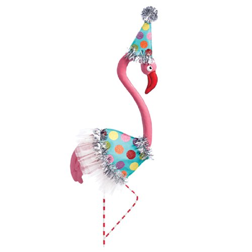 [Silvestri Glamingo Flamingo Party Costume for Garden Statues] (Party Glitters Costumes)