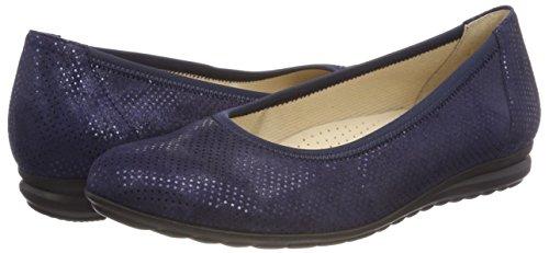 Eu Blu Donna Ballerine 5 40 nightblue Comfort Gabor Shoes Sport wIzFFX