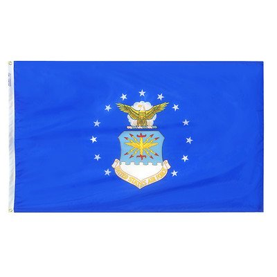 Armed Forces United States Air Force Traditional Flag Size: 3' x 5', Military Branch: Air Force