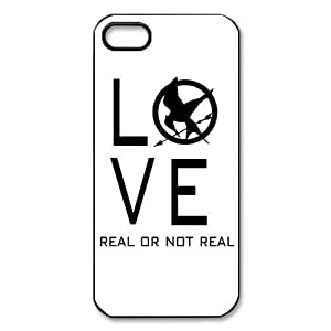 Hot Movie The Hunger Games Fashinable Popular The Hunger games Love, Real or Not Real Design iphone 4/4s iphone 4/4s OR Rubber+Plastic Case
