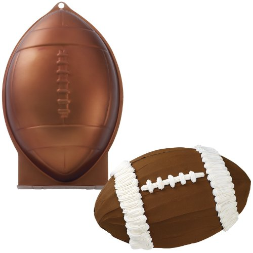 Wilton First And Ten Football Pan (Football Helmet Cake Pan compare prices)