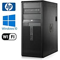 HP DC7800 Tower - Intel Core 2 Duo 3.0GHz - NEW 1TB HDD - 4GB RAM - Windows 10 Pro 64-bit - WiFi - DVD-RW (Prepared by ReCircuit)
