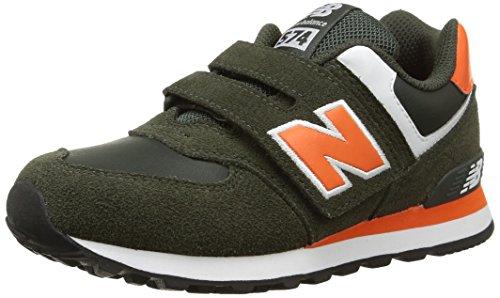 Diadora Jungen Sneaker, Mehrfarbig - 45049 Rosso - Größe: 34
