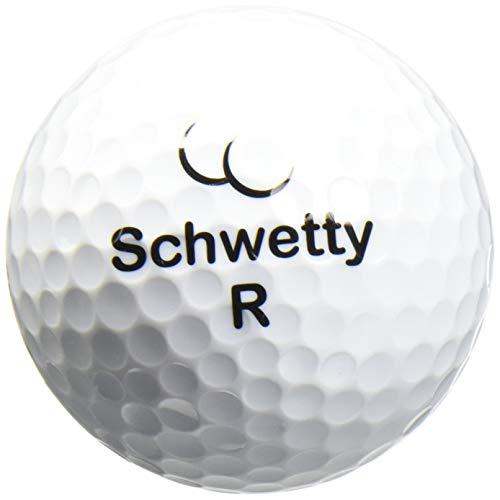 Schwetty Balls White Pair (includes 2 Golf balls)