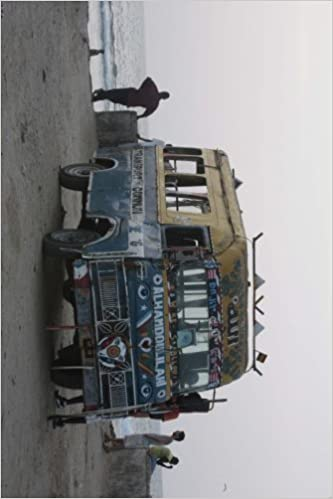 Book A Bus in Senegal, For the Love of Africa: Blank 150 page lined journal for your thoughts, ideas, and inspiration