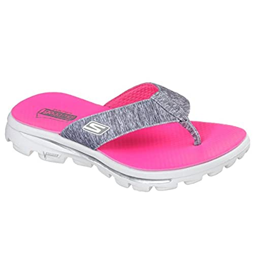 4a682a0c3 cheap Skechers Performance Women s Go Walk Move Solstice Flip Flop ...