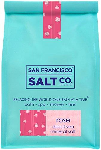 Rose Dead Sea Salt - 28oz Designer Bag
