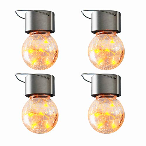 Crackle Ball Solar Garden Lights