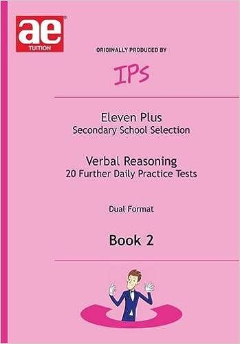 Verbal Reasoning: 11+ Daily Practice Tests Bk. 2