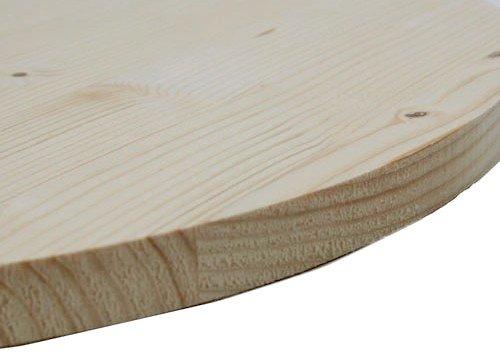 Allwood 0.71'' x 24'' Whitewood Round Panel