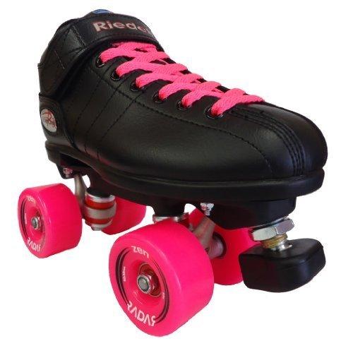 Riedell R3 Zen Pink Outdoor Speed Skates - R3 Zen Roller Derby Skate by Riedell