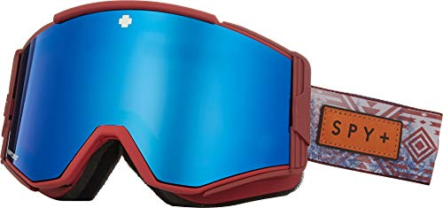 Spy Optic Unisex Ace Native Nature Red Happy Rose W/Dark Blue Spectra One Size