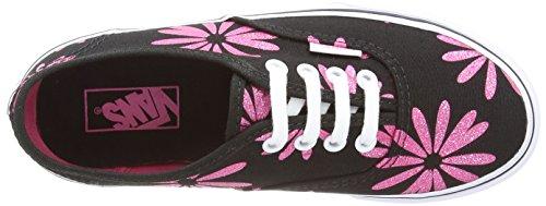 Vans Authentic, Zapatillas Unisex Bebé Negro (Sparkle Black)