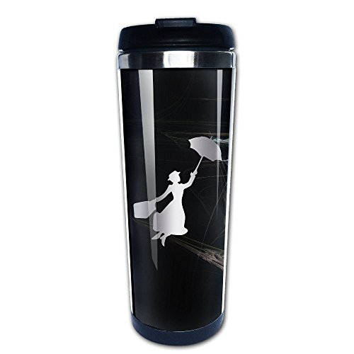 Stainless Steel Mary Poppins Platinum Style Tumbler Coffee Mug by HINVIREG