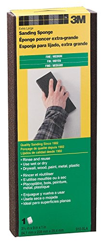 3M 910-XLA Fine To Medium Sanding Sponge by 3M