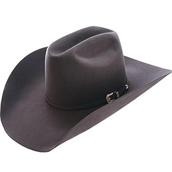 c5c8a0ae165 NRS American Hat Company Mens 10X Open Crown Felt Cowboy Hat 63 4 Steel