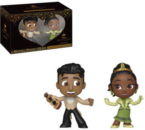 - Funko Mini Vinyl Figures: Princess and The Frog - Tiana and Naveen 2-Pack