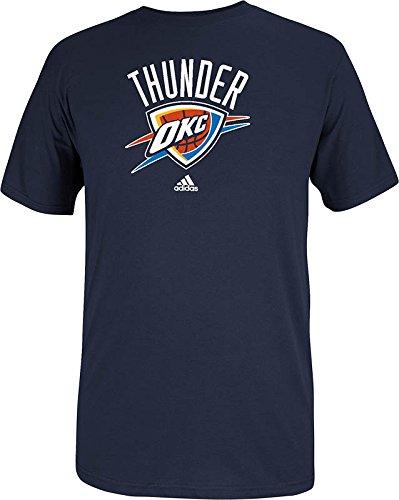 Tee Oklahoma - NBA Oklahoma City Thunder Men's Full Primary Logo Tee, X-Large, Navy
