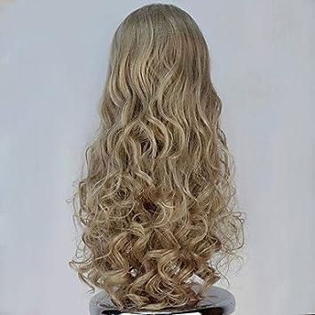 hjl de Cenicienta peluca rizos pelucas Divide en de Disney Cenicienta Cosplay peluca, strawberry blonde: Amazon.es: Deportes y aire libre