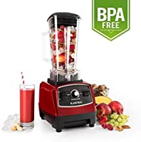 Klarstein Herakles 2G-R - Batidora BPA-free, Mezcladora, Picadora ...