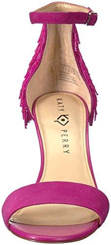 Katy Perry Women's The Kate Heeled Sandal, Medium Fuchsia