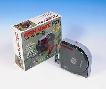 Fish Mate P21 Automatic Pond Fish Feeder by Fish Mate