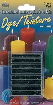 Yaley Concentrated Candle Dye Blocks, 0.75-Ounce, Green from Yaley