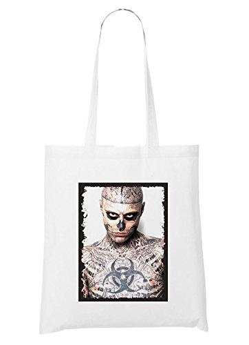 Tattoo Zombie Bag White