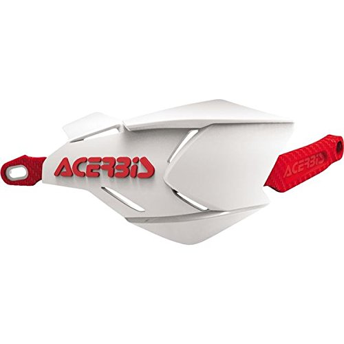 Acerbis Atv - X-FACTORY HANDGUARD WHITE/RED