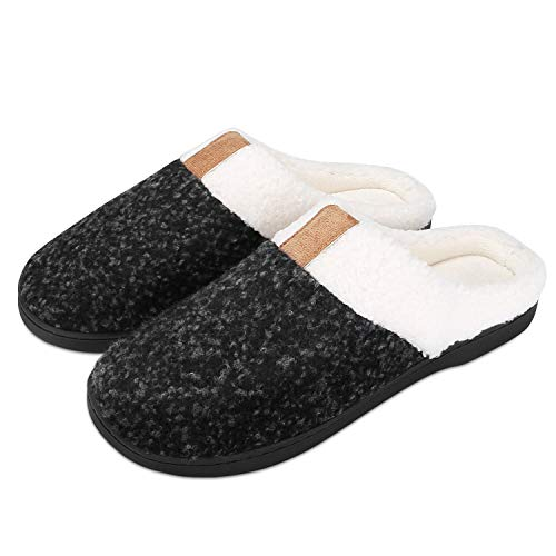 Puricon Women's Slippers, Soft Cozy Comfortable Wool