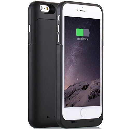 3800mah External Battery Case iPhone 6/ iPhone 6s (Black) - 4