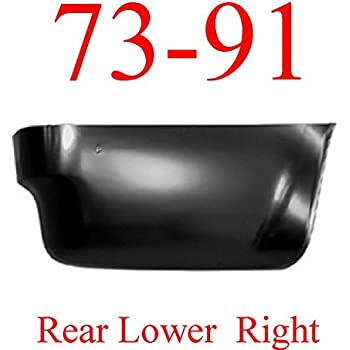 GMC Truck Blazer Jimmy 0850-133 6.5 Foot 73 87 Chevy Left Rear Lower Bed Panel