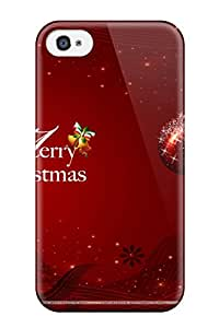 Iphone 4/4s Case Slim [ultra Fit] Christmass Protective Case Cover
