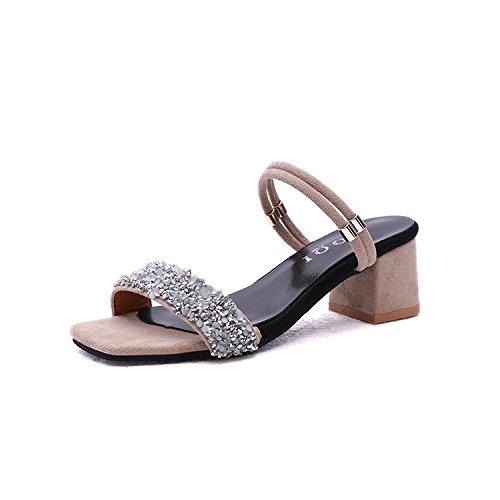 Thirty indossando e un con pantofole bocca due pesce scarpa un nine e Donyyyy fresco femmina 0qEtO8w