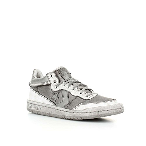 158627c Bianco Uomo Star Sneaker Fast 158628c Scarpa Break 83 Converse Donna All Grigio White Grey Mid YABq5w7