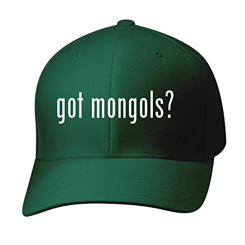 BH Cool Designs Got mongols? - Baseball Hat Cap Adult, Forest, Large/X-Large